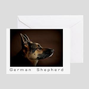 germanshepherd1 Greeting Card