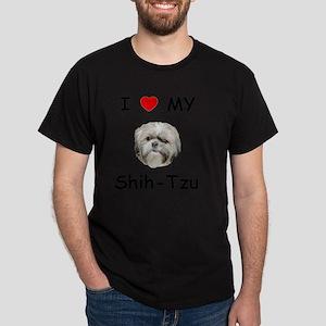 shihtzu Dark T-Shirt