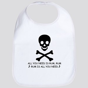 ALL YOU NEED IS RUM Bib