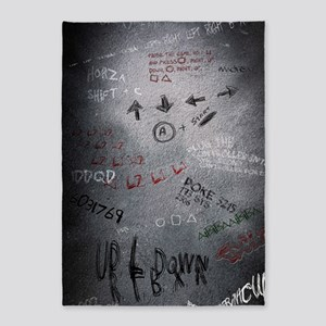 Cheat Codes Poster 5'x7'Area Rug