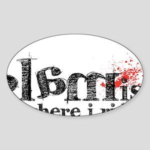 glamisride Sticker (Oval)
