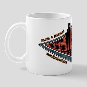Longboard Crest Mug