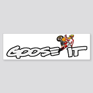 gooseit_airstrike_back Sticker (Bumper)