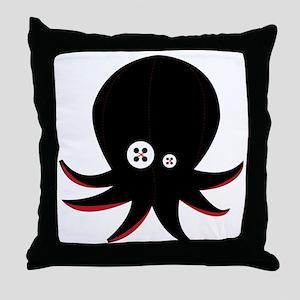franknpus01 Throw Pillow