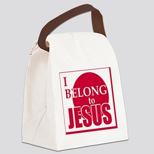 belong copy Canvas Lunch Bag