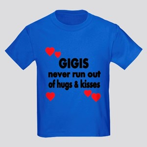GIGIS NEVER RUN OUT OF HUGS KISSES T-Shirt