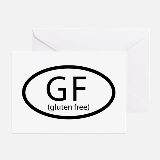 gfCarSticker Greeting Card