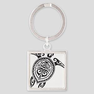 Tribal Sea Turtle Keychains