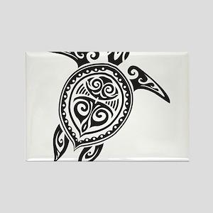 Tribal Sea Turtle Magnets