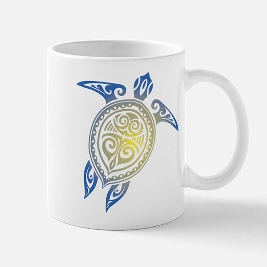 Tribal Sea Turtle Mugs