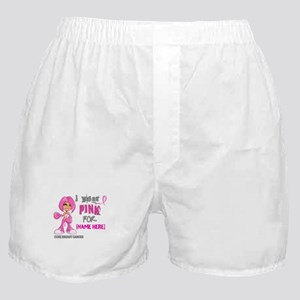 Personalized Breast Cancer Custom Boxer Shorts