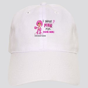 Personalized Breast Cancer Custom Cap