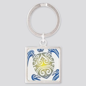Tribal Sea Turtle Keychains