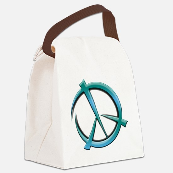 peace-art Canvas Lunch Bag