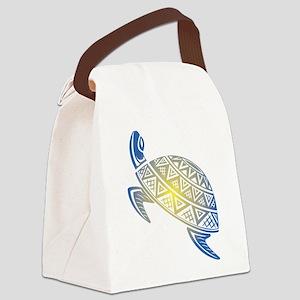 Sea Turtle Art Canvas Lunch Bag