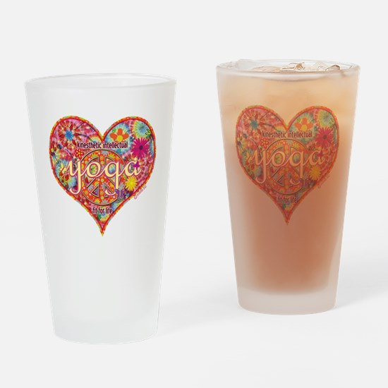 yoga fit for life kinesthetic intel Drinking Glass