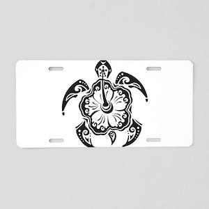 Sea Turtle Art Aluminum License Plate