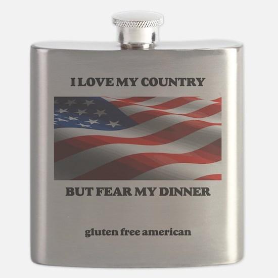 gf american shirt Flask
