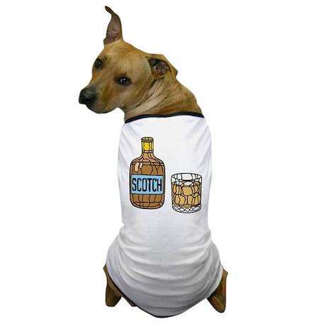 Scotch On The Rocks Dog T-Shirt