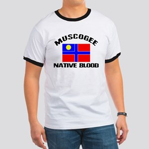 Muscogee Native Blood Ringer T
