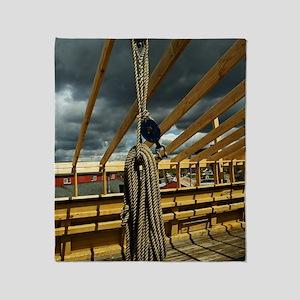 (6) Rope & Pulleys Throw Blanket