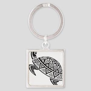 Sea Turtle Art Keychains
