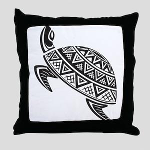 Sea Turtle Art Throw Pillow