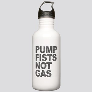 Pump Fists Not Gas Stainless Water Bottle 1.0L