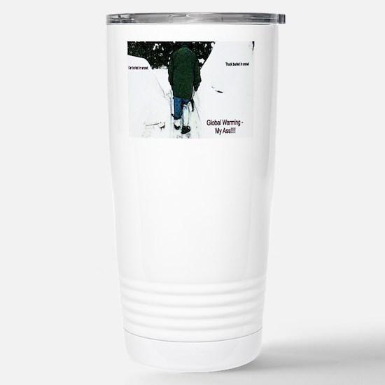 Global Warming 2009 Stainless Steel Travel Mug