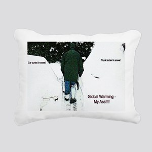 Global Warming 2009 Rectangular Canvas Pillow