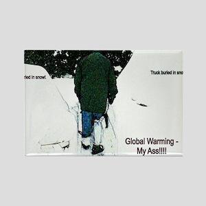 Global Warming 2009 Rectangle Magnet