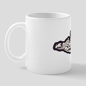 eallen ssbn white letters Mug