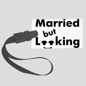 shirt-married-looking Large Luggage Tag