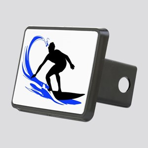 shirt-waves-surfer2 Rectangular Hitch Cover