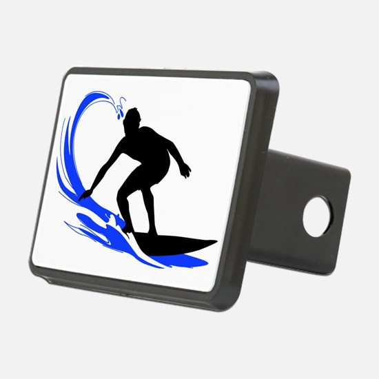 shirt-waves-surfer2 Hitch Cover
