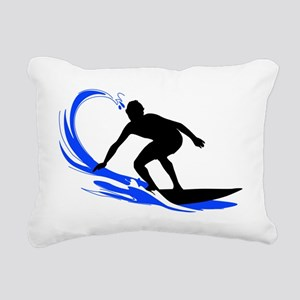shirt-waves-surfer2 Rectangular Canvas Pillow