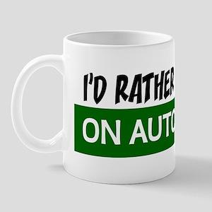 Id Rather be Driving on Autostrada Bump Mug
