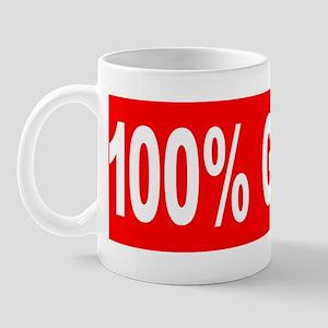 Im 100% Góral Bumper Sticker Mug