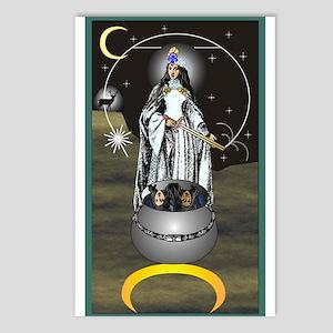 High Priestess Tarot Card Postcards (Package of 8)