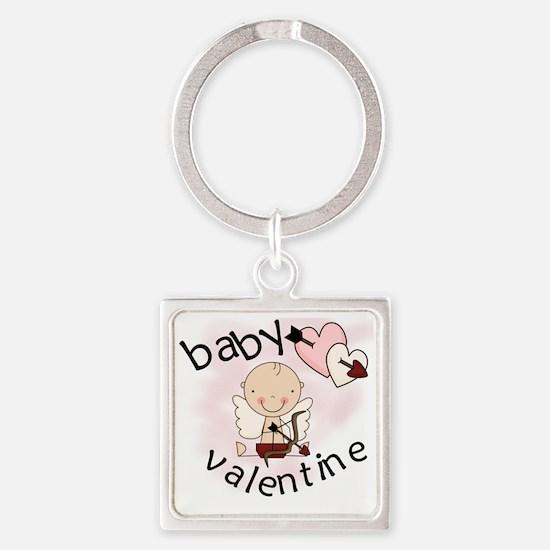 BABYVALENTINE Square Keychain