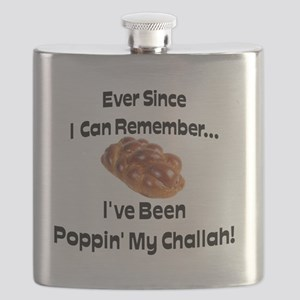 Poppin My Challah Flask