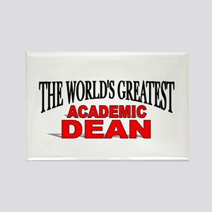 """The World's Greatest Academic Dean"" Rectangle Mag"