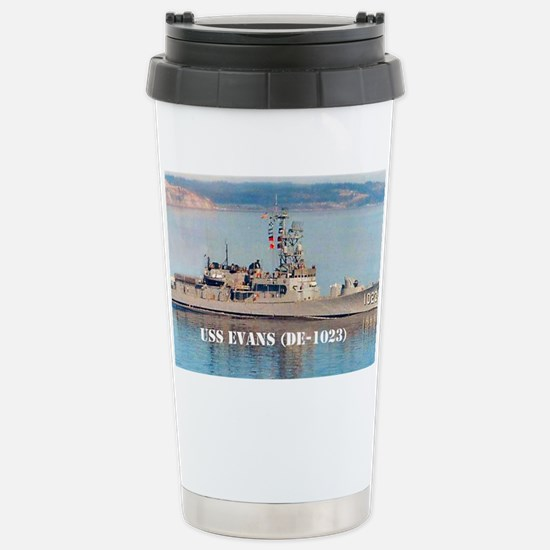 evans large poster Stainless Steel Travel Mug