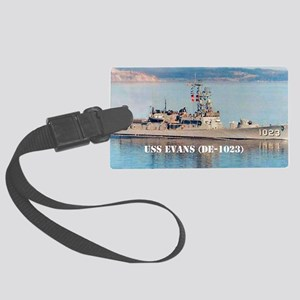 evans large poster Large Luggage Tag