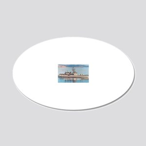 evans large poster 20x12 Oval Wall Decal