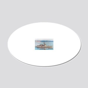 evans mini poster 20x12 Oval Wall Decal
