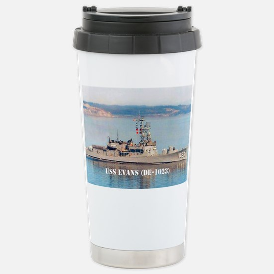 evans mini poster Stainless Steel Travel Mug