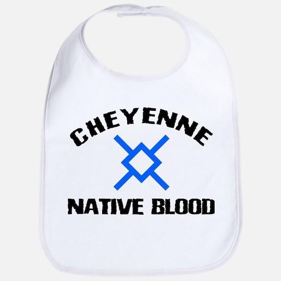 Cheyenne Native Blood Bib