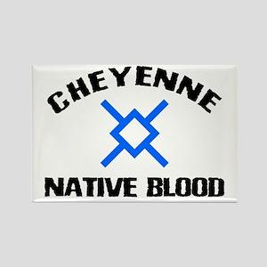 Cheyenne Native Blood Rectangle Magnet