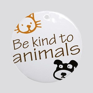 be kind2 Round Ornament